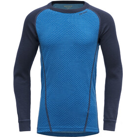 Devold Duo Active Shirt Kinderen, skydiver/evening